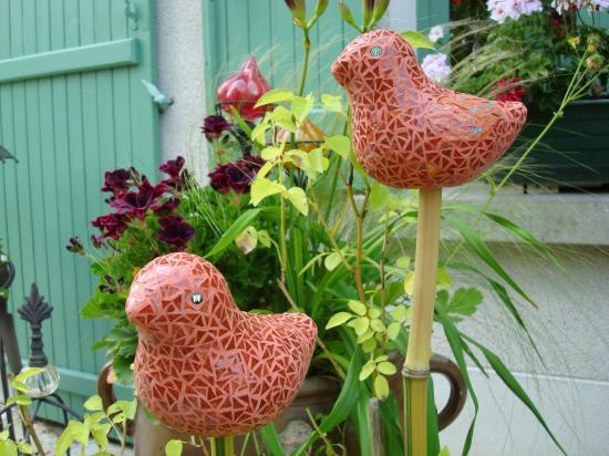 relookage tuteurs de jardin